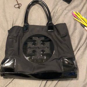Authentic Black Tory Burch Tote